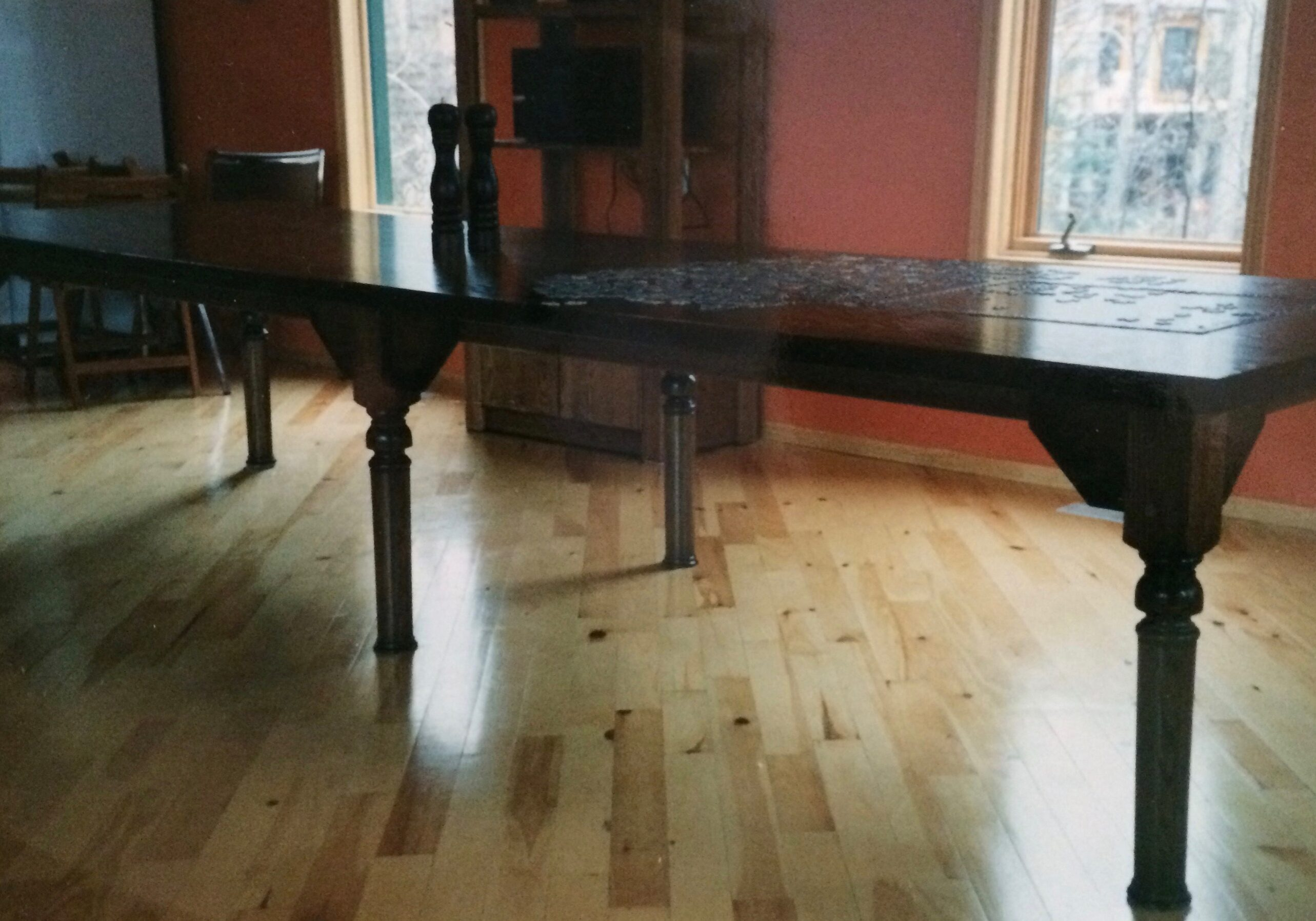 kitchen table, dining table, wooden table, custom table, custom furniture