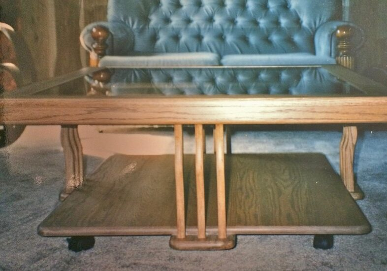 coffee table, custom wood furniture, custom made furniture, custom cabinets,