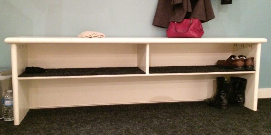 shoe rack, shoe bench, shoe storage