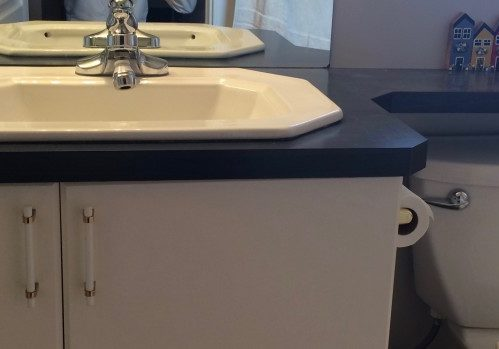 counter tops, plastic laminate countertop, laminate counter tops, bathroom storage, vanity, vanities, custom made vanities