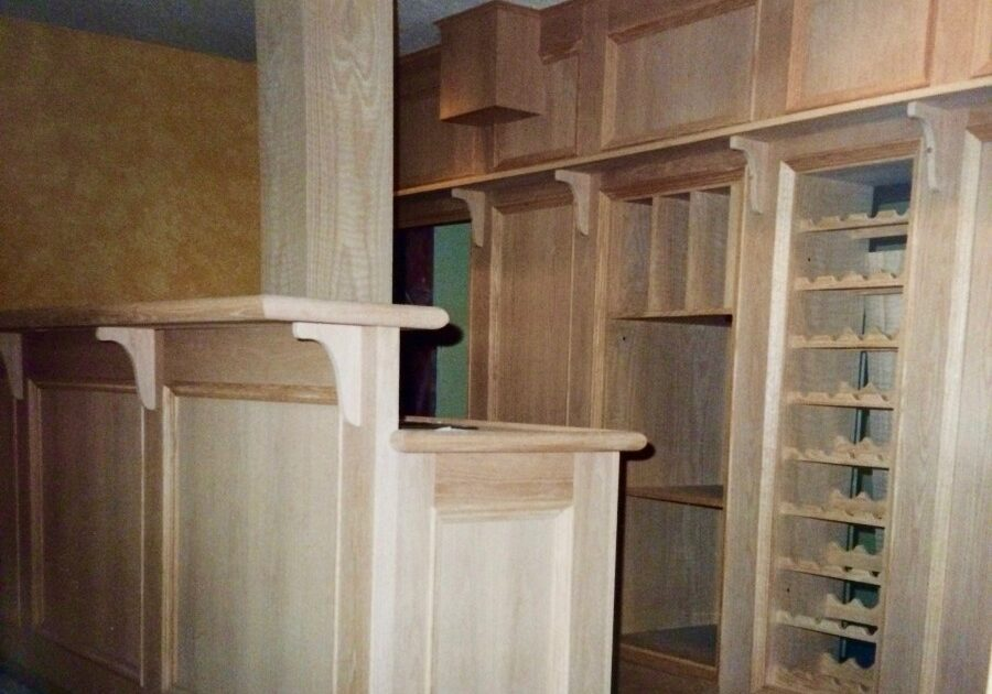 Oak Wall Unit, Oak Shelves, Wall Units Entertainment center, custom furniture