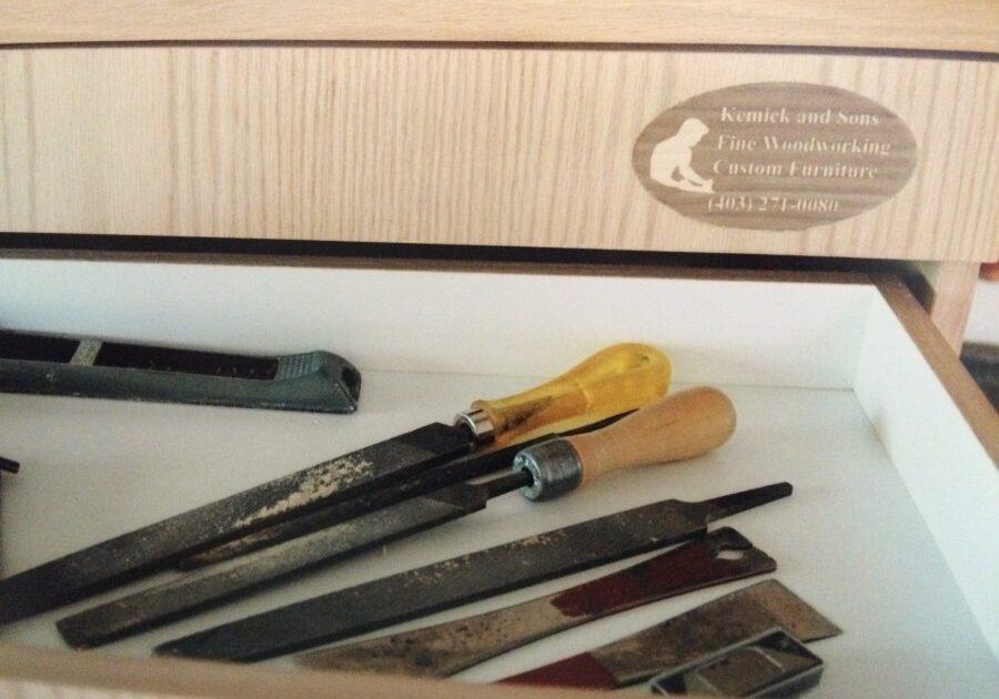 rick kemick, custom built furniture, Calgary cabinetmaker, Calgary cabinet maker, lake bonavista