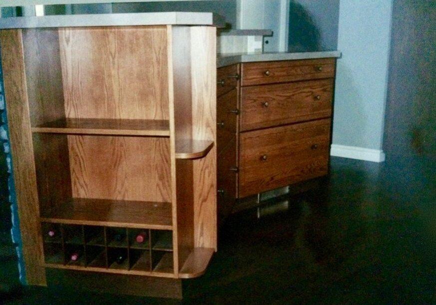 bar, custom wood furniture, custom made furniture