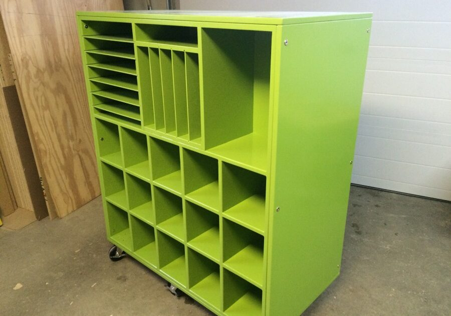 daycare furniture, custom furniture, storage