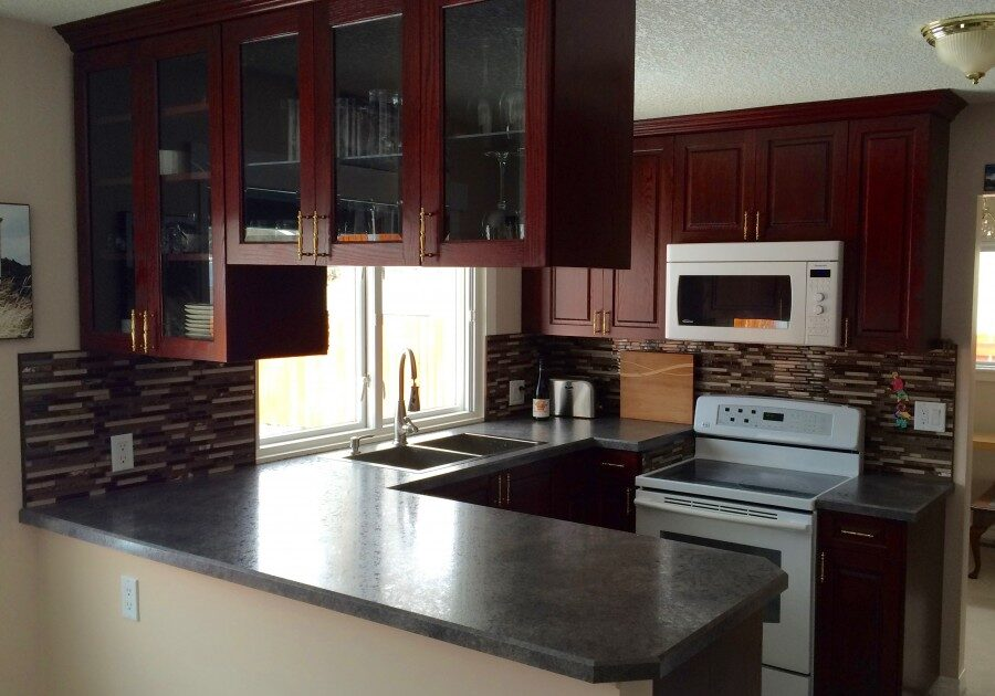 custom kitchen, laminate countertops, countertops,