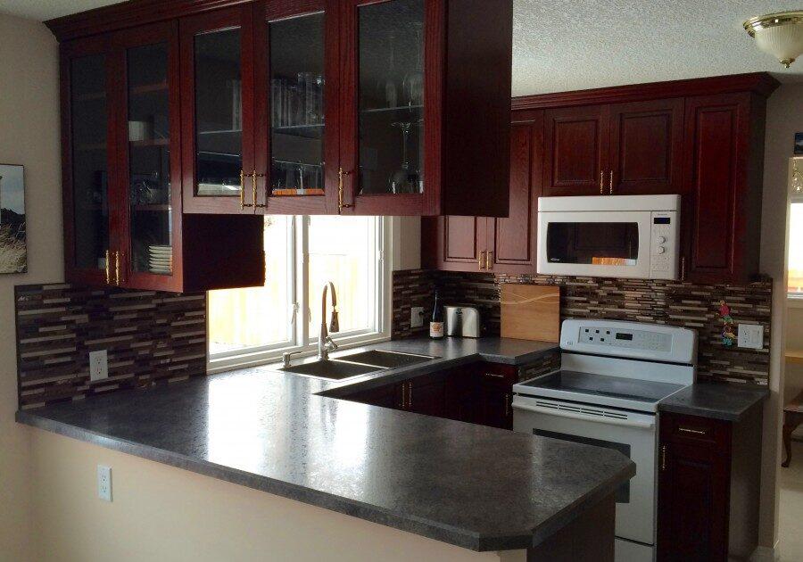 custom kitchen, laminate countertops, countertops,